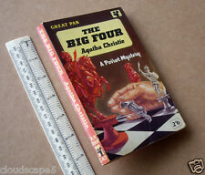 "Agatha Christie Vintage Pan PB ""The Big Four"" Poirot Mystery 1927/1962"