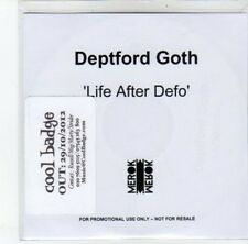 (DJ812) Deptford Goth, Life After Defo - 2012 DJ CD