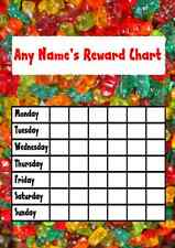 Gummy Bear Sweets Star Sticker Reward Chart