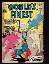 "World's Finest #120 ~ ""Challenge of the Faceless Creatures"" ~ (3.0) 1961 WH"