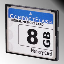 High Speed 8GB  8 G Compact Flash Compactflash CF Memory Card 8G for Camera 1PCS