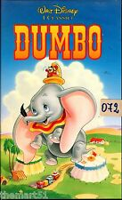 DUMBO (1941)  VHS  Disney  VS 4357    del 02/1992
