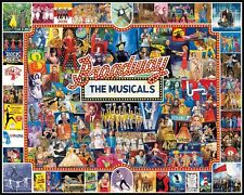 Broadway Musicals 1000 piece jigsaw puzzle   750mm x 600mm   (wmp)