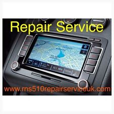 VW&Skoda RNS 510 Sat Nav Repair Service (Splash Screen,boot Problem)