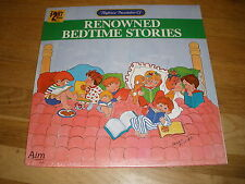RENOWNED BEDTIME STORIES playhouse presentation of LP Record - Sealed