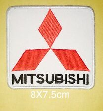 #380 Mitsubishi Racing Biker Jacket ,EMBROIDERED Iron on/Sew on PATCH
