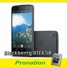 Blackberry DTEK50 16GB 4G Black FACTORY UNLOCKED (Fast Shipment)+Wet Wipe