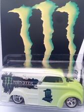 Monster Dairy Delivery Custom Hot Wheels Chrome Real Riders