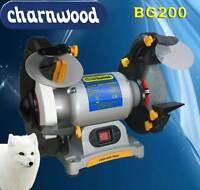 """Charnwood 8"""" (200mm) Bench Grinder Sharpener"""