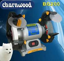 "Charnwood BG200  8"" (200mm) Bench Grinder Sharpener"