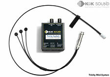 K&K Trinity MINI PICK-UP CHITARRA ACUSTICA PRO + sistema di Mike