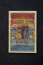 Creedence Clearwater Revival Tour Poster 1971Cincinnati #2