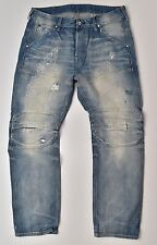 G-Star RAW Elwood 5620 3D Straight 25YR Worn RL Denim Jeans W34 L32 Neu !!!
