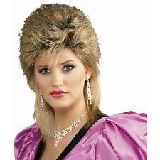 80's Salon Wig Mixed Blonde