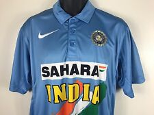 VTG NIKE AIR INDIA SAHARA CRICKET JERSEY SIZE XL  INDIAN NATIONAL TEAM RARE NWT