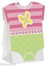PINK DOTS BABY SHOWER FAVOR BOXES ONESIES GIRL POLKA DOT PARTY DECORATIONS BOX