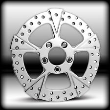 CUSTOM ROCK STAR FRONT BRAKE ROTOR FOR HARLEY AND CUSTOMS 11.50""