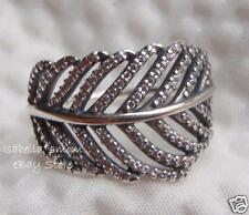 NEW Authentic PANDORA Silver LIGHT AS A FEATHER Clear CZ Ring Sz 7 190886CZ-54