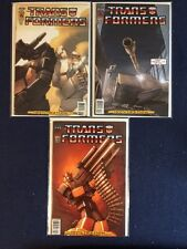 Transformers Infiltration # 1, 3 and 4 NM IDW 2006