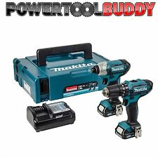 Makita 10.8 Volt CTX Twin Pack MAKPAC CLX 201AJ 2 x 2.0Ah Li-Ion Batts