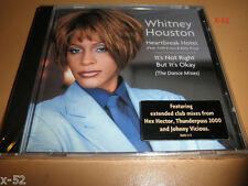 WHITNEY HOUSTON single HEARTBREAK HOTEL cd Dance Mixes HEX HECTOR Johnny Vicious
