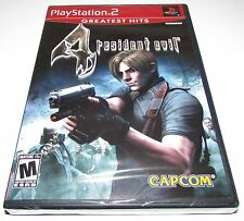 Resident Evil 4 for Playstation 2 Brand New! Factory Sealed!