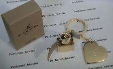 Burberry Heart & Perfume Bottle Key Chain Burberry Authentic New with Box