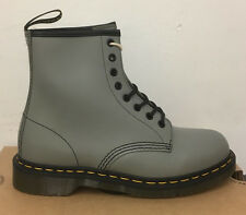 DR. MARTENS 1460  GREY SMOOTH    LEATHER  BOOTS SIZE UK 3