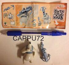 PINGUINI MADAGASCAR-CAPORALE+CARTINA FF339 logo grande-Kinder sorpresa Italia