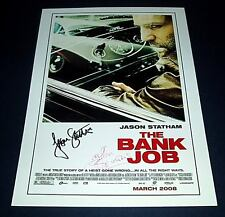 THE BANK JOB CAST PP SIGNED POSTER 12X8 JASON STATHAM
