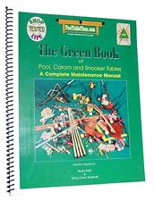 The Green Book of Pool, Carom and Snooker Tables - How To Build A Pool Table