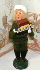 BYERS CHOICE Caroler Boy with Toy Noahs Ark 1998    *
