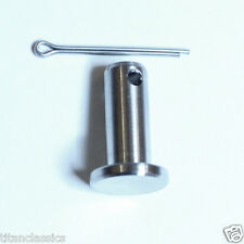 NSR250 TITANIUM rear brake clevis pin with stainless split pin