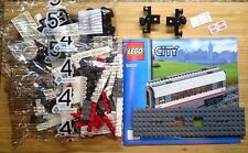Lego Train City Passenger White High-Speed Middle Carriage Railway Set 60051 NEW