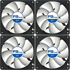 4 x Arctic Cooling F9 PWM Rev.2 92mm Case Fans 1800 RPM (AFACO-090P2-GBA0) Artic