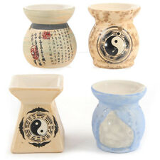 Small Chinese Oriental Ceramic Candle Oil Burner Tart Warmer Decorative Ornament