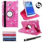 """Samsung Galaxy Tablet 360 Leather Rotate Case Cover Tab 3 7""""&10.1"""" P3200/P5200"""