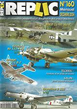 """REPLIC N°160 WACO CG-4A """"HAIG"""" /  HEINKEL 111 H-6 ET 111 B/2 / DEWOITINE D 338"""