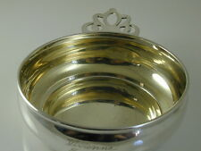 LUNT PORRINGER VINTAGE STERLING SILVER LEMON GILDED 70.0 GRAMS NO. 191