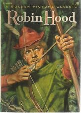 ROBIN HOOD illustrated in color (1957) Golden Picture Classic CL-410 SqB SC