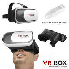 Google Cardboard VR BOX Virtual Reality 3D Glasses Helmet For iPhone Samsung UK