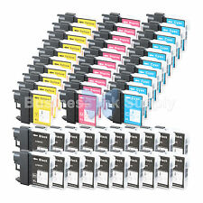 50 PACK LC65 Ink Set for Brother MFC-5890CN MFC-5895CW MFC-6490CW MFC-6890CDW