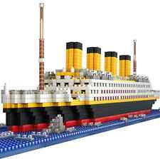 1680pcs The Titanic Ship Diamond Building Bricks Blocks Puzzle Kits Toy Gift