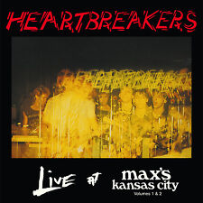 HEARTBREAKERS 'Live at Max's Kansas City Vols 1 & 2' CD Johnny Thunders NYC punk