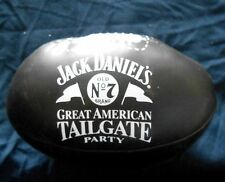 Jack Daniel's Old No. 7 Great American Tailgate Party Plush Black Football MT NR
