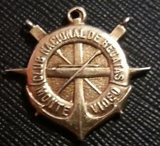 1921 URUGUAY - NATIONAL ROWING CLUB open four 1500 mts BEAUTY DESIGN MEDAL AWARD