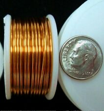 Non tarnish bronze plated copper round wire 18Ga