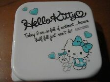 Sanrio Hello Kitty Light Blue Tupper Container 230ml small Not for Sale RARE
