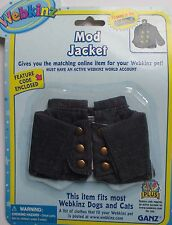 w MOD JACKET pet clothes WEBKINZ CLOTHING New Code Free shipping fits most pets