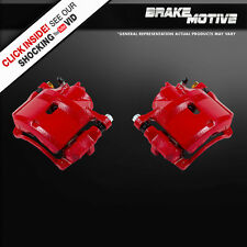 Front Red Brake Calipers 1998 1999 2000 2001 2002 HONDA ACCORD DX EX LX SE 4 CYL